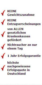 DIe Vorteile unserer Raucherentwöhnung in Stuttgart