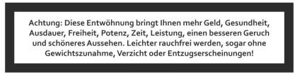 Rauchen aufhören mit professioneller Raucherentwöhnung in Stuttgart und anderen Städten - von Krankenkassen geprüft und anerkannt!